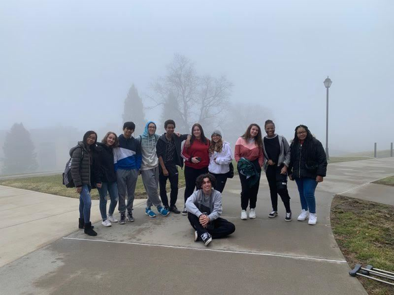 AVID Visits Mount Saint Mary College