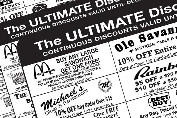 Ultimate Discount Cards Available Until January 3rd