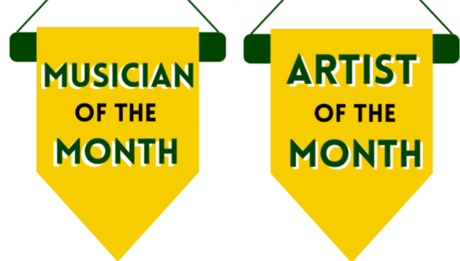 HPCSD Artist and Musician of the Month